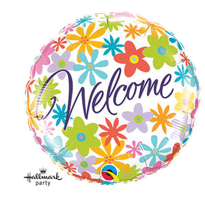 18″ WELCOME FLOWERS