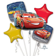 CARS 3 LIGHTNING MCQUEEN BALLOON BOUQUET
