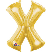 34″ LETTER X - ANAGRAM - GOLD