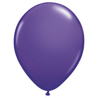 11″ QUALATEX PURPLE VIOLET