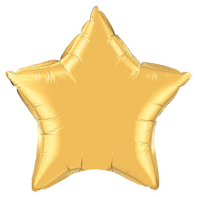 20″ STAR - METALLIC GOLD