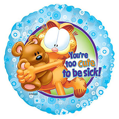17″ GARFIELD TOO CUTE TO BE SICK