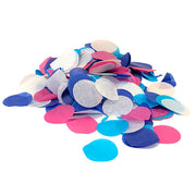 TISSUE CONFETTI - ASSORTED PASTEL COLORS