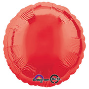 18″ CIRCLE - METALLIC RED