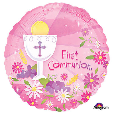 18″ FIRST COMMUNION PINK