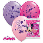 "12"" MINNIE MOUSE (6 PK)"