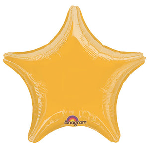 19″ STAR - METALLIC GOLD