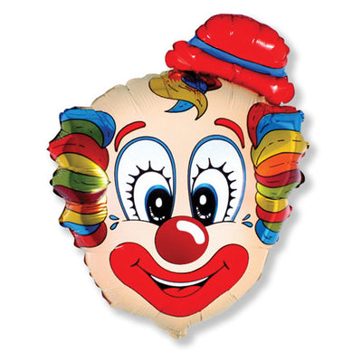 30″ CLOWN HEAD CONFETTI