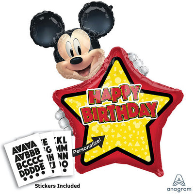30″ MICKEY MOUSE FOREVER PERSONALIZED
