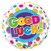 18″ GOOD LUCK COLORFUL DOTS