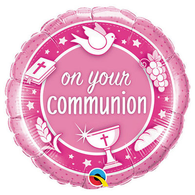 18″ ON YOUR COMMUNION PINK