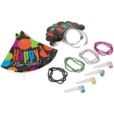 NEW YEAR'S EVE CHEER PARTY KIT FOR 4