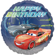 18″ CARS 3 HAPPY BIRTHDAY