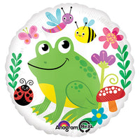 18″ HAPPY FROG & FRIENDS