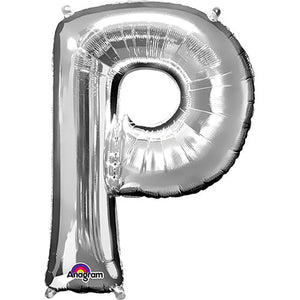 34″ LETTER P - ANAGRAM - SILVER