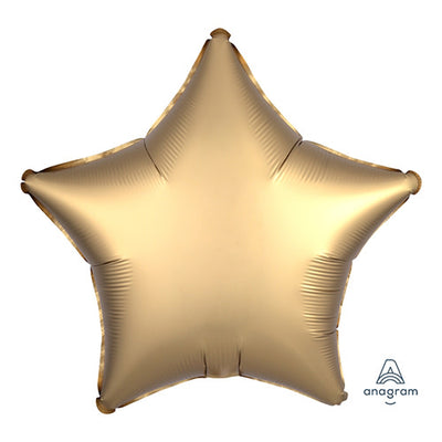 19″ STAR - SATIN LUXE GOLD SATEEN