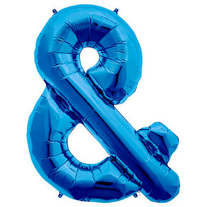 34″ AMPERSAND - BLUE