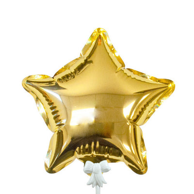 6″ SELF-INFLATING STAR - GOLD