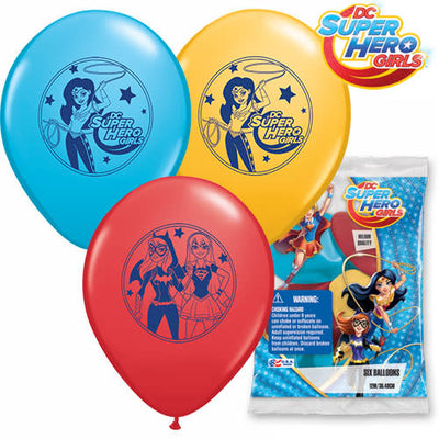 12″ DC SUPER HERO GIRLS (6 PK)