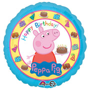 18″ PEPPA PIG HAPPY BIRTHDAY