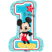 28″ MICKEY 1ST BIRTHDAY