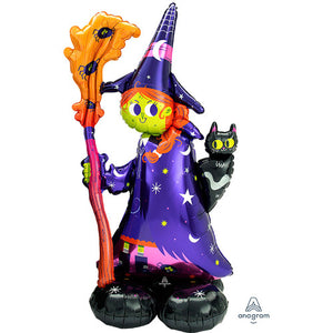 55″ SCARY WITCH AIRLOONZ