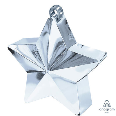 6 oz. BALLOON STAR WEIGHT - SILVER