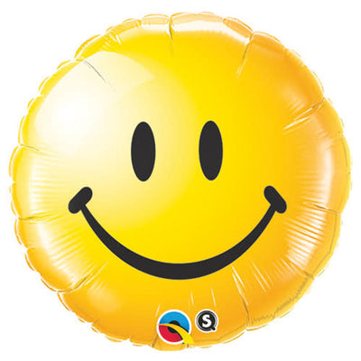 18″ SMILEY FACE - YELLOW