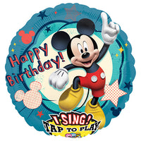 28″ MICKEY CLUBHOUSE BIRTHDAY SING-A-TUNE