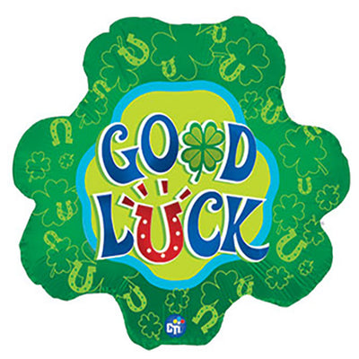 17″ GOOD LUCK SHAMROCK SHAPE