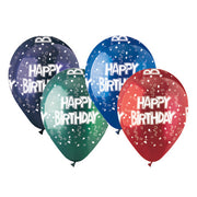 12″ FESTIVE HAPPY BIRTHDAY CRYSTAL ASSORTMENT