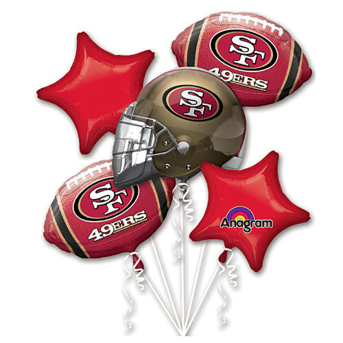 SAN FRANCISCO 49ERS BOUQUET