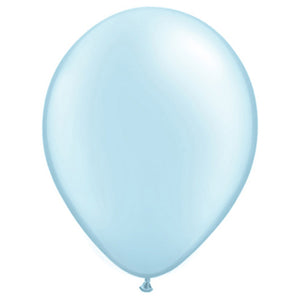 5″ QUALATEX PEARL LIGHT BLUE