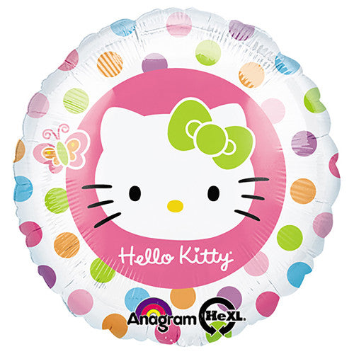 18″ HELLO KITTY RAINBOW CIRCLES