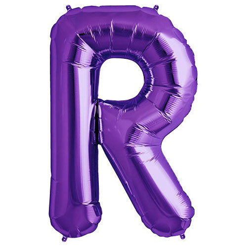 34″ LETTER R - NORTHSTAR - PURPLE