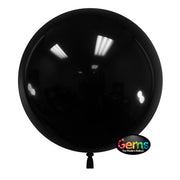22″ GEMS BALLOON - RAVEN BLACK (3 PK)