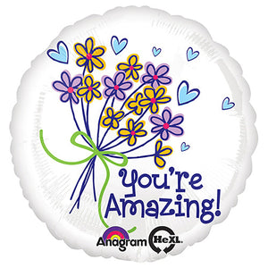 18″ YOU'RE AMAZING BOUQUET