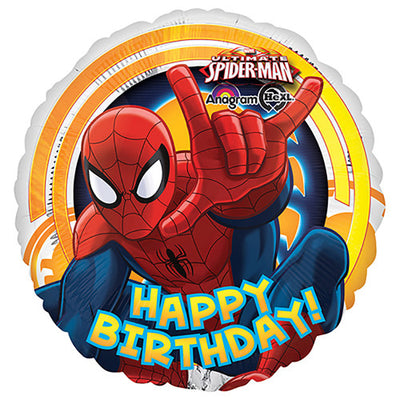 18″ SPIDER-MAN ULTIMATE BIRTHDAY