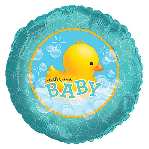 17″ BUBBLE BATH DUCKIE