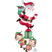 63″ CHRISTMAS CHARACTERS STACKER