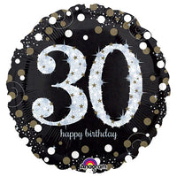 18″ SPARKLING BIRTHDAY 30