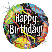 18″ PARTY STREAMERS HAPPY BIRTHDAY