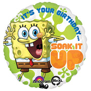18″ SPONGEBOB BIRTHDAY