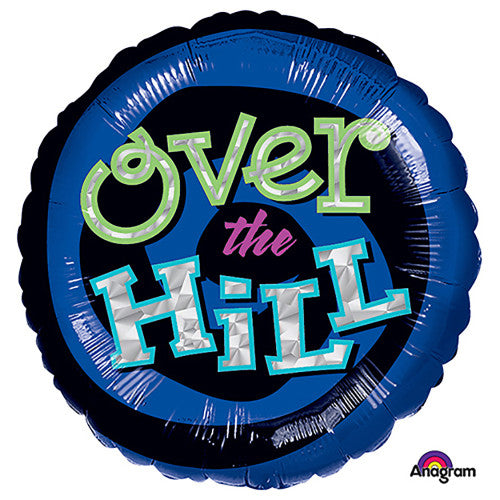 18″ OH NO! OVER THE HILL