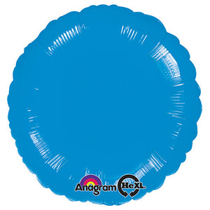 18″ CIRCLE - METALLIC BLUE