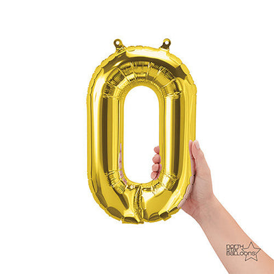 16″ NUMBER 0 - GOLD (AIR-FILL ONLY)