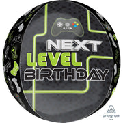 16″ LEVEL UP BIRTHDAY ORBZ