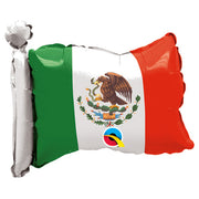 "17"" MEXICAN FLAG SHAPE (AIRFILLED)"