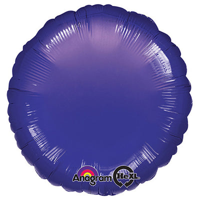 18″ CIRCLE - METALLIC PURPLE