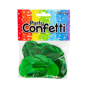 METALLIC CONFETTI - EMERALD GREEN